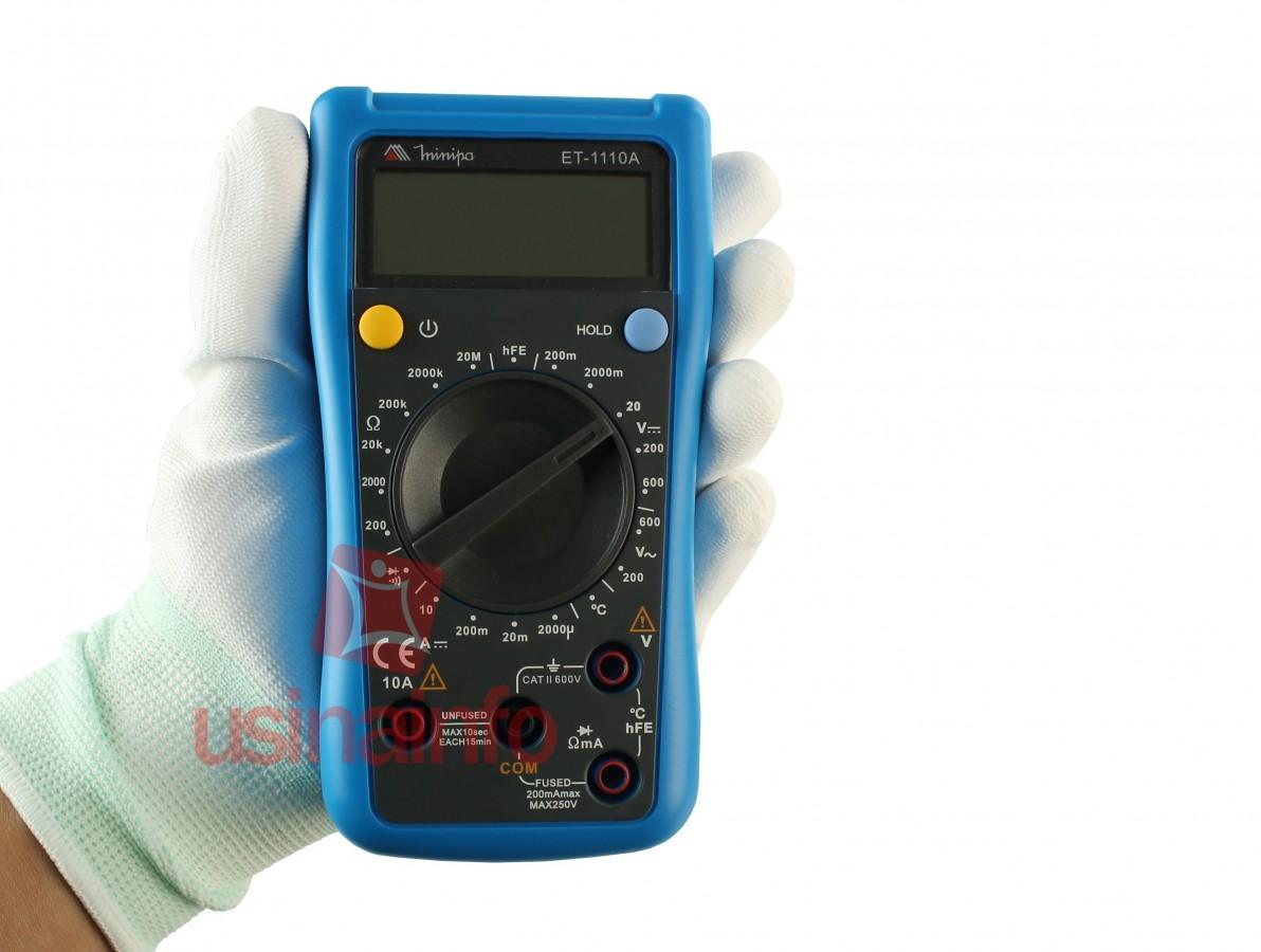 Multímetro Digital Minipa ET-1110A (DESCONTINUADO)