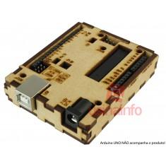 Case para Arduino UNO em MDF