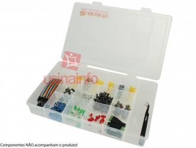 Caixa Organizadora G de 28x17,5x4cm com 11 divisórias