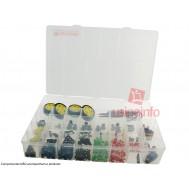 Caixa Organizadora Plus de 34,5x49x6,5cm com 34 divisórias - Paramount