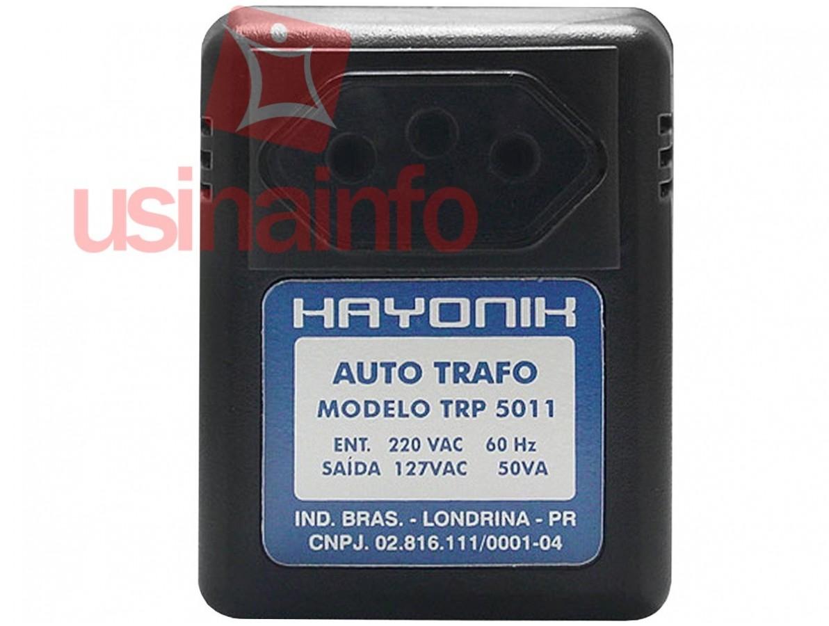 Transformador 220 para 127VAC / Autotrafo de Parede - Hayonik