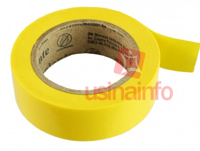 Fita Isolante Colorida 3M Imperial 18mm x 10m - Amarela