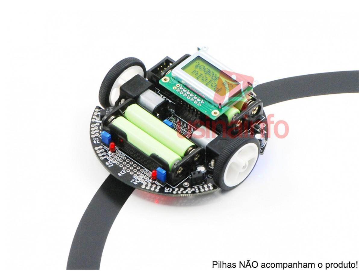 Carrinho Arduino / 3Pi Robot 2WD com Motores, Display e ATmega328 - Pololu