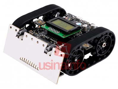 Carrinho Arduino / Zumo 32U4 Robot Kit 2WD sem Motores, com Display e Atmega32U4 - Pololu