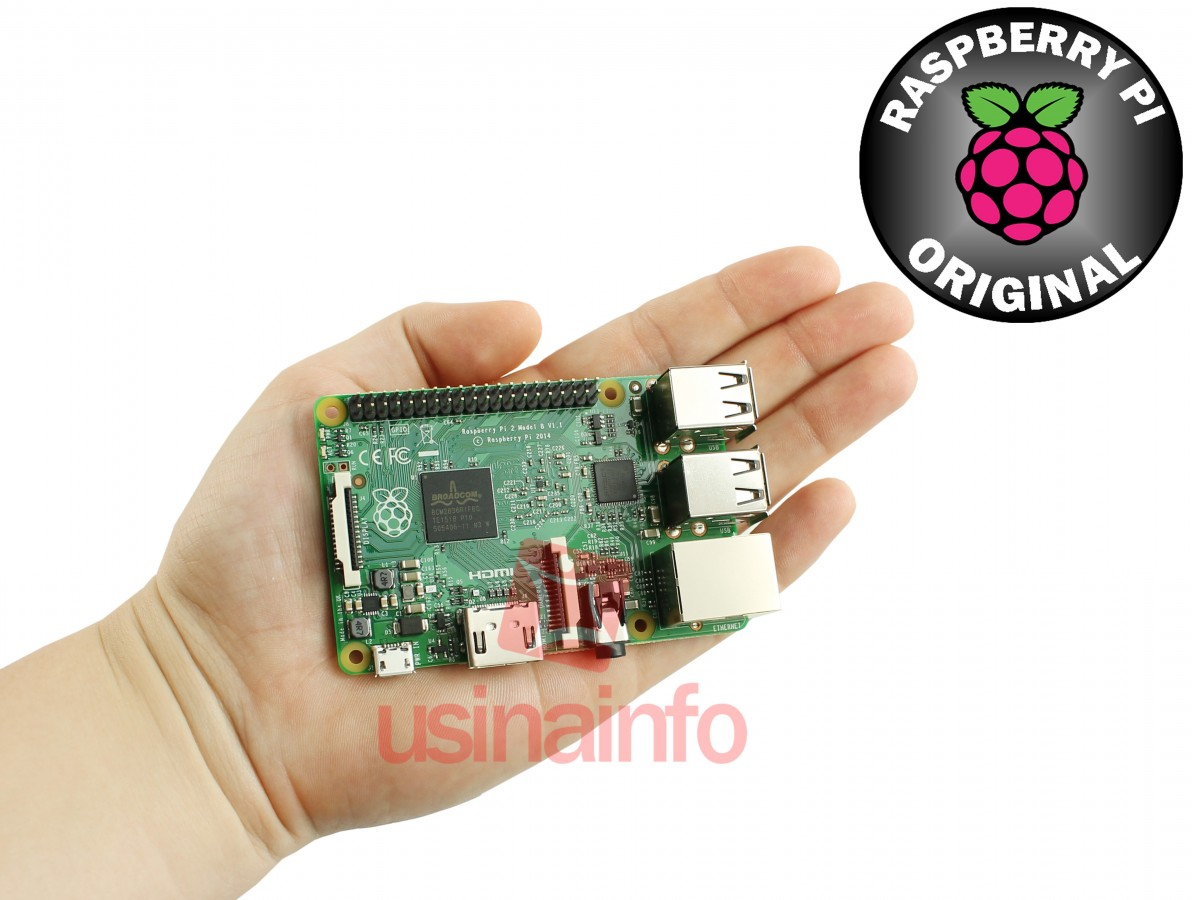 Raspberry Pi 2 Modelo B Original - Compatível com Windows 10 IoT Core