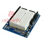 Protoshield / Prototype para Arduino + Protoboard 170 pontos