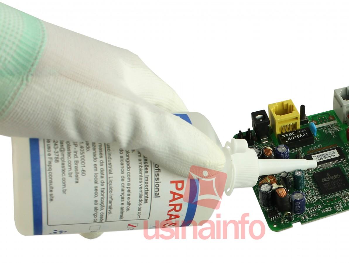 Fluxo de Solda Líquido Incolor 250ml - Implastec