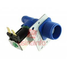 Válvula Solenoide para Água 127V ou 220V 180 (3/4 x mang. 1/2) - Com suporte
