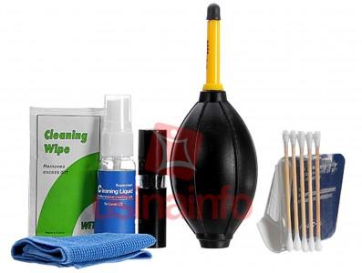 Kit Profissional para Limpeza de Lentes e Câmeras - Nikon