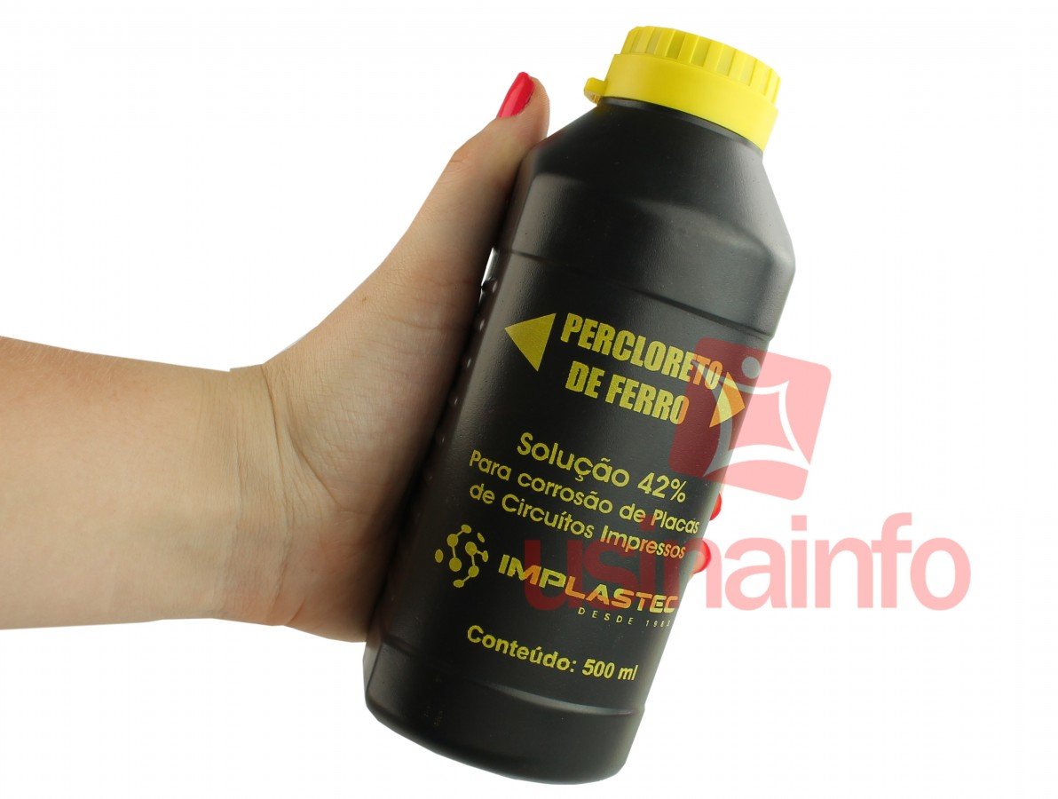 Percloreto de Ferro Líquido 500ml - Implastec
