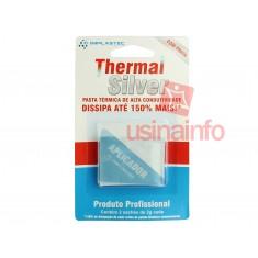Pasta Térmica de Prata / Thermal Silver de Alta Condutividade com Aplicador para Processadores, PS3 e Outros - 4g