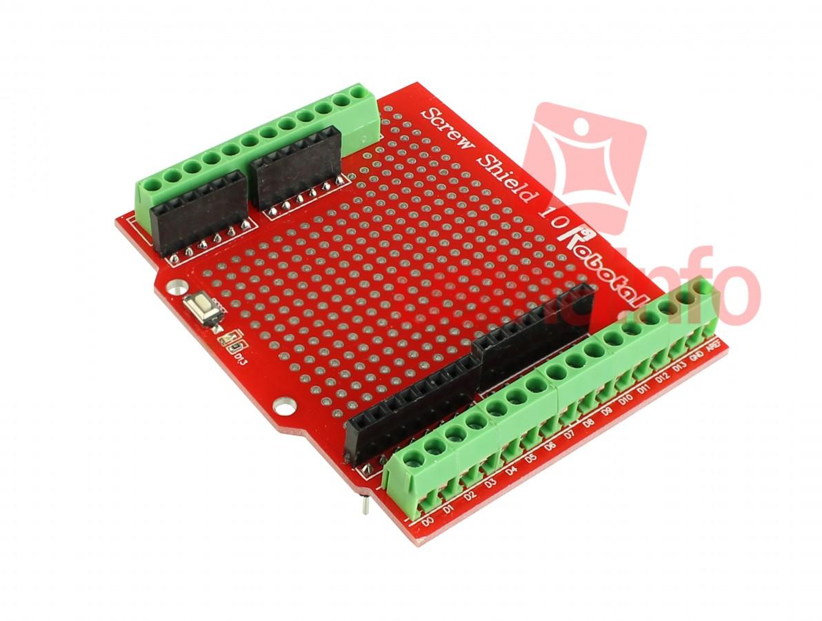 Proto ScrewShield 1.0 - Placa de Prototipagem para Arduino