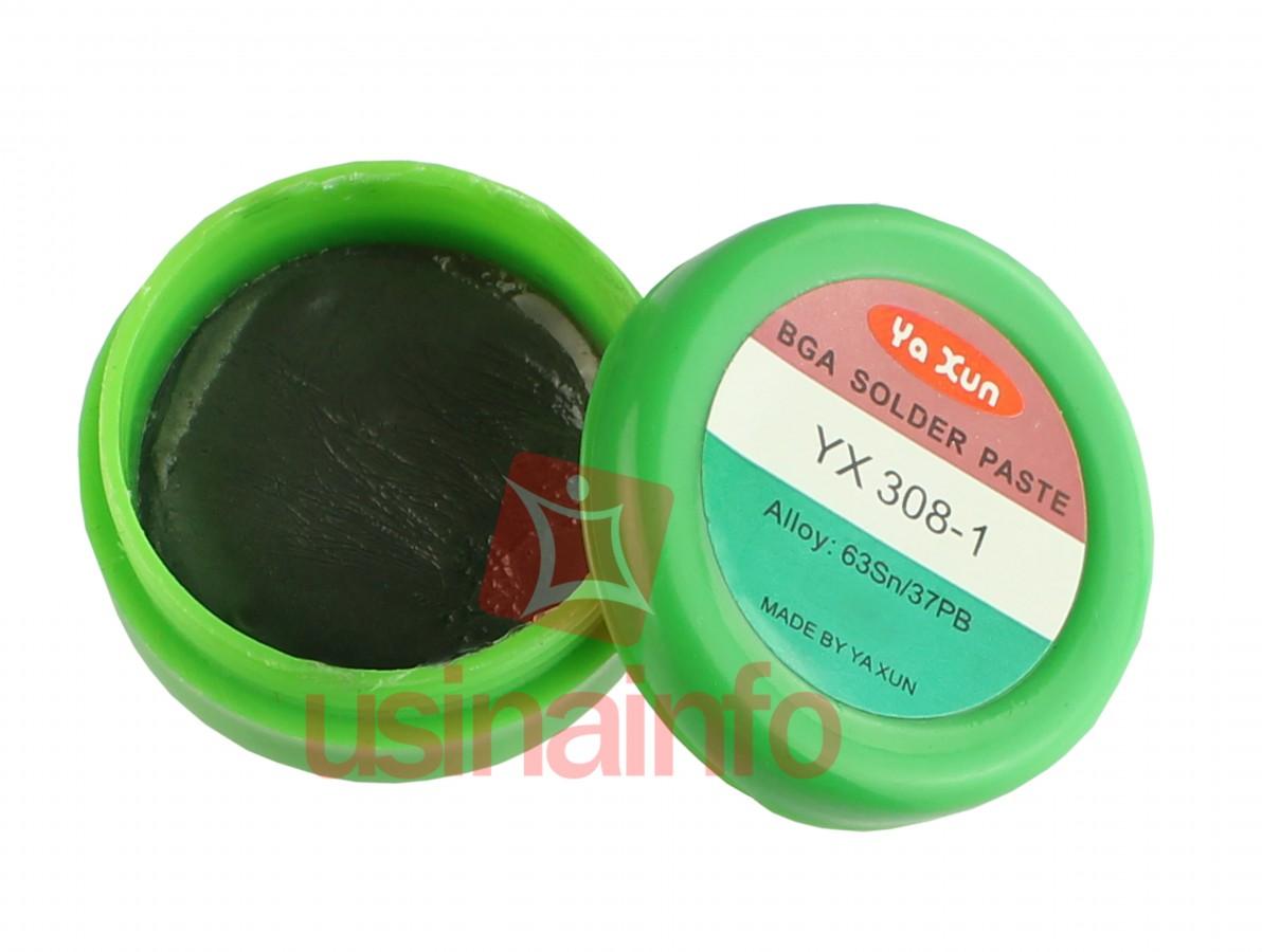 Solda em Pasta 63Sn/37PB para Chip's BGA e SMD - YX308 1