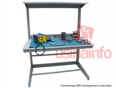 Bancada de Trabalho Eletrônica em Aço - BRA-1130