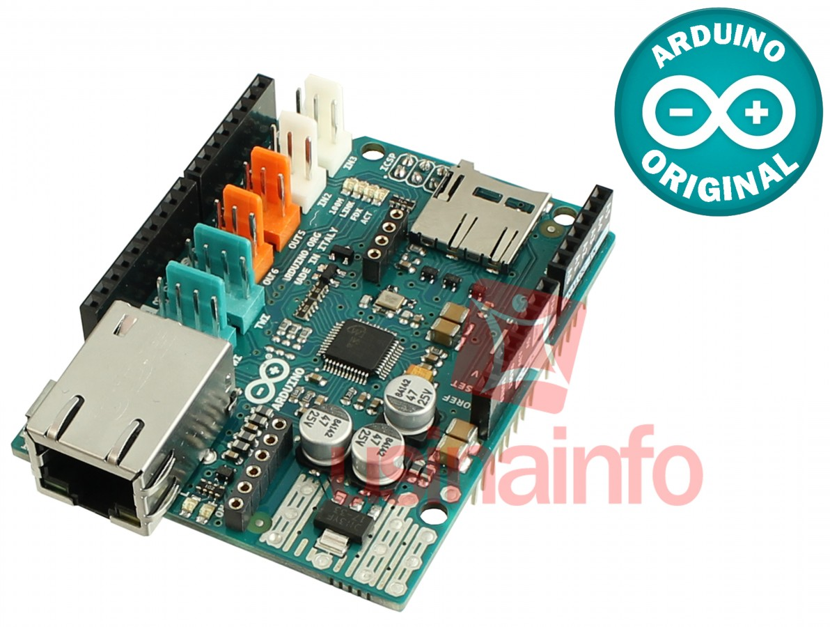 how to connect arduino to ethernet shield