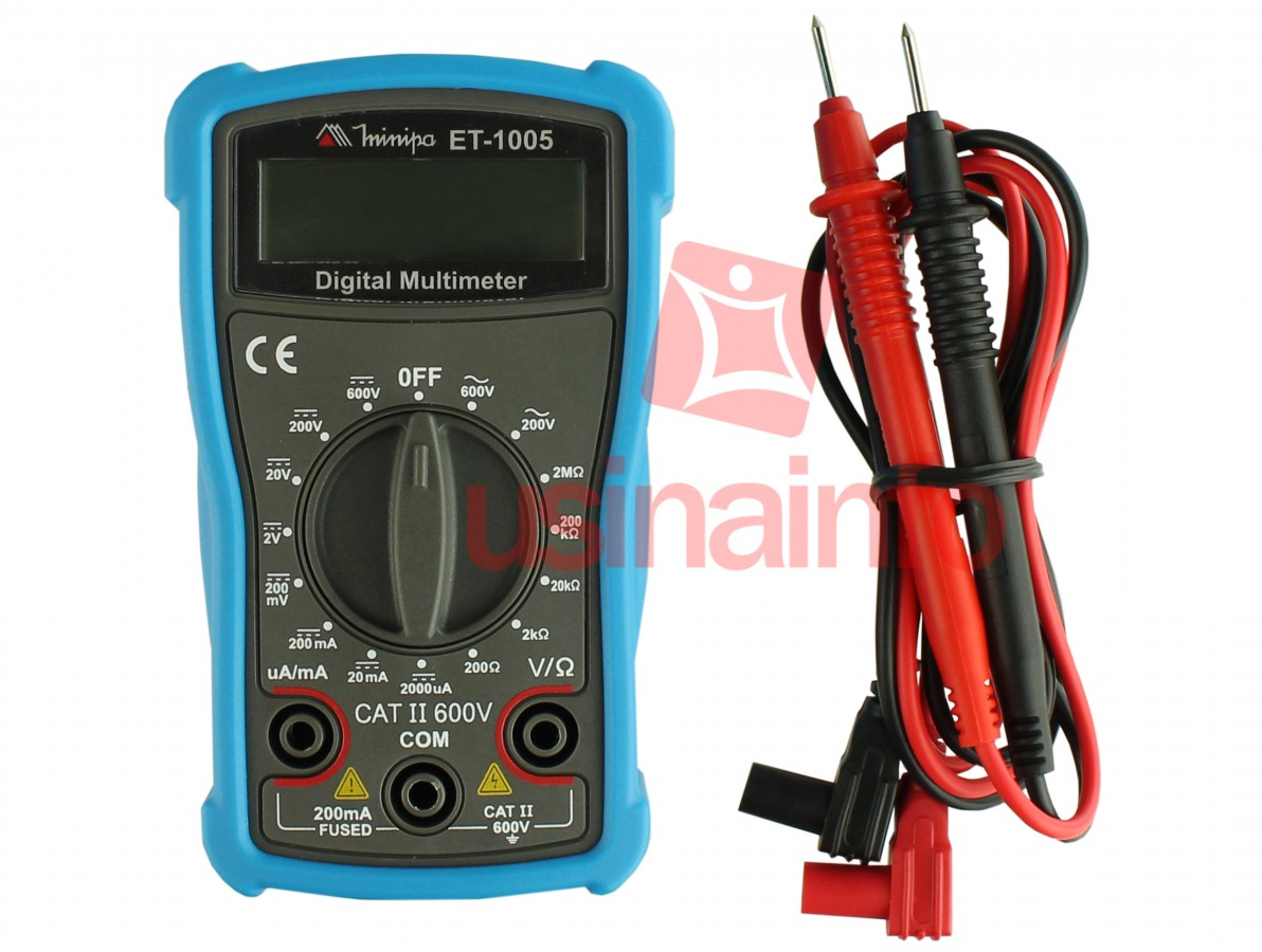 Multímetro Digital Minipa ET-1005