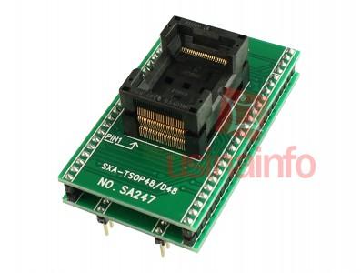 Adaptador Tsop48 para Dip48 - Modelo Universal