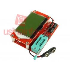 Medidor de ESR / Testador de Transistor com Display e Atmega328 - M328
