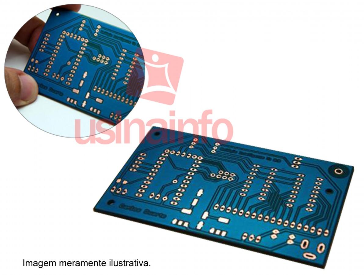 Tinta Fotossensível Azul para Máscara de Circuito Impresso + Catalisador - 50g