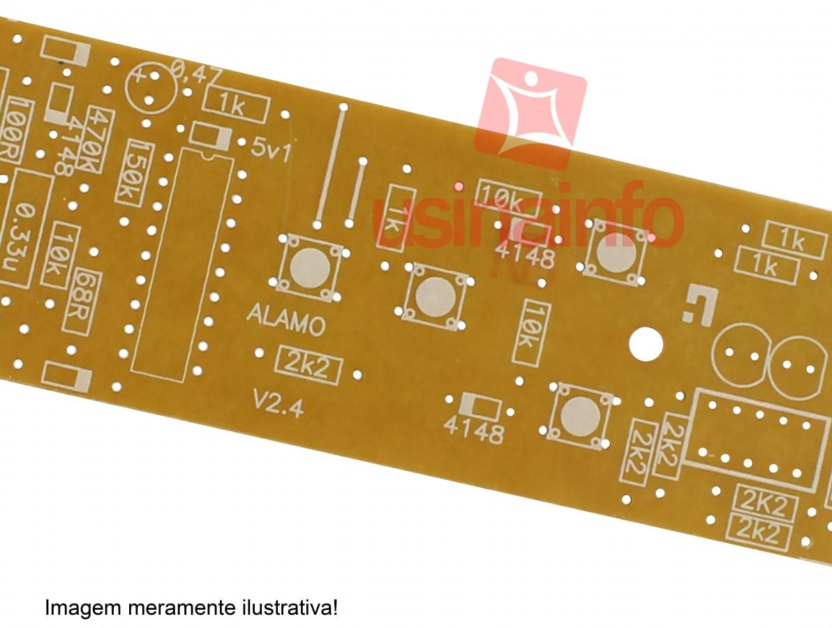 Tinta Fotossensível Vermelha para Máscara de Circuito Impresso + Catalisador - 50g