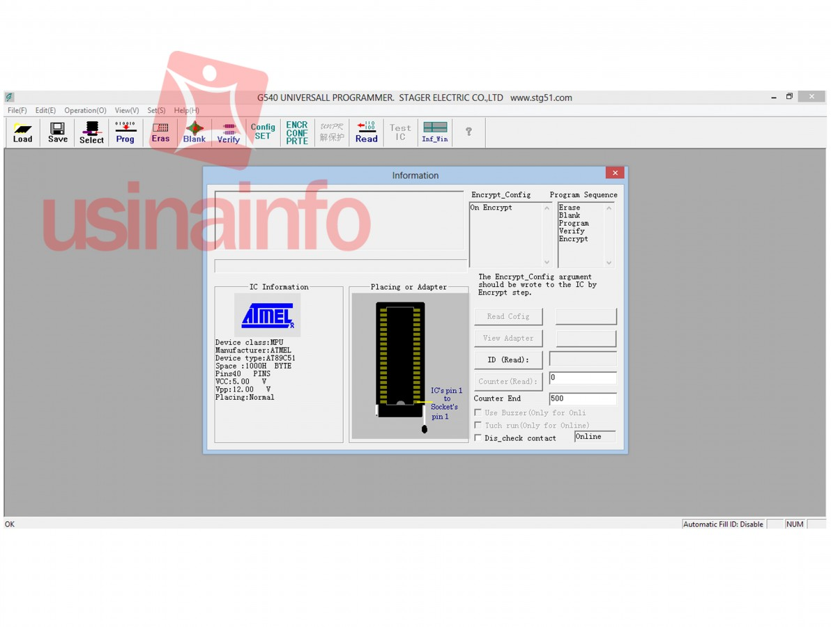 Gravador Programador Genius G540 - Eeprom, Flash, Bios, AVR, PIC, Entre Outros