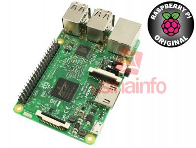 Raspberry Pi 3 Modelo B Original Com Adaptador Wifi e Bluetooth 4.1 - Compatível com Windows 10 IoT Core