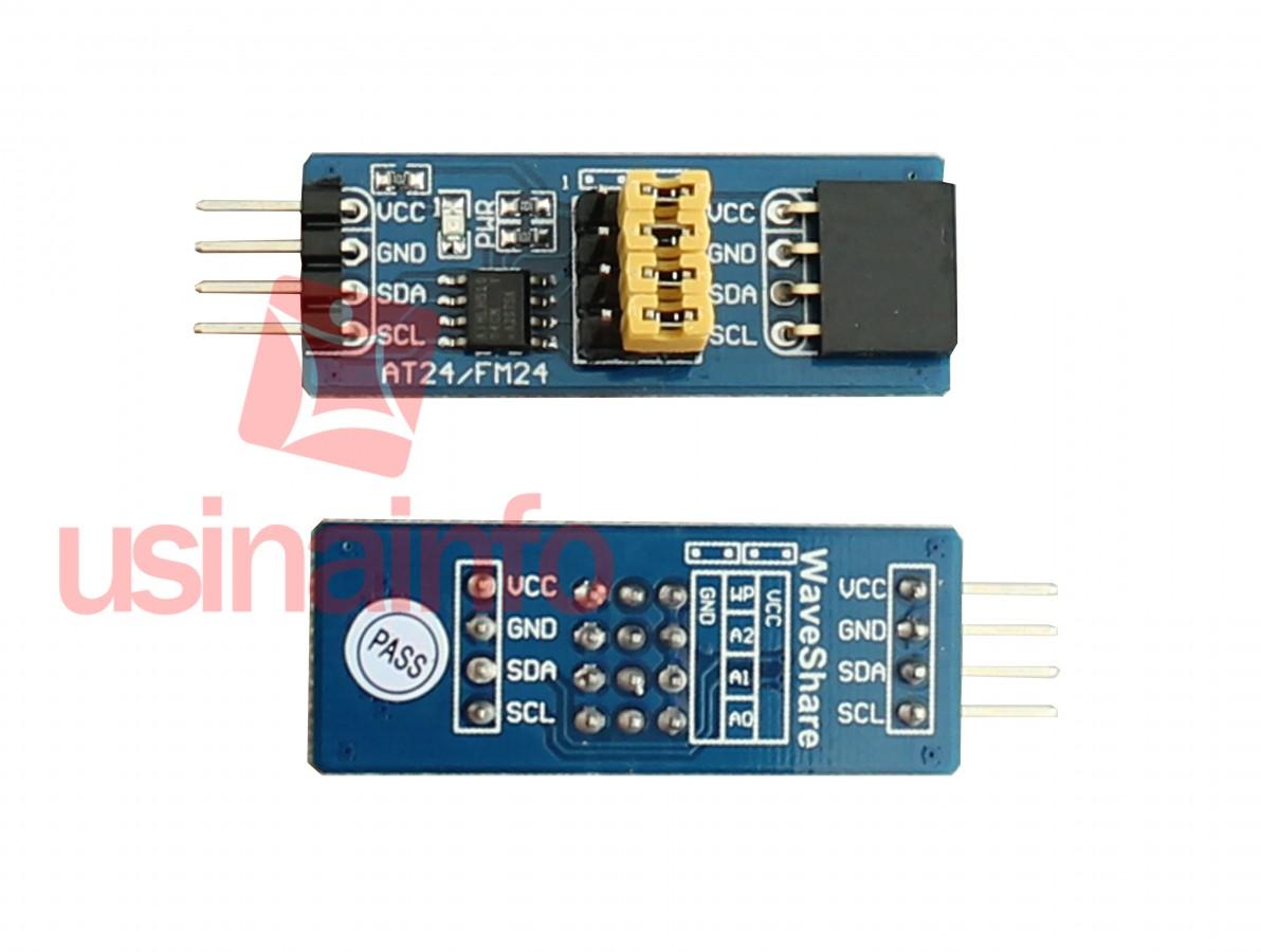 Módulo de Memória FRAM - FM24C04B -  Alta Velocidade / Maior Eficiência que EEPROM / Retenção de Dados por Até 38 Anos
