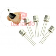 Transistor 2N2222 Metálico NPN para Projetos - Kit com 05 Unidades