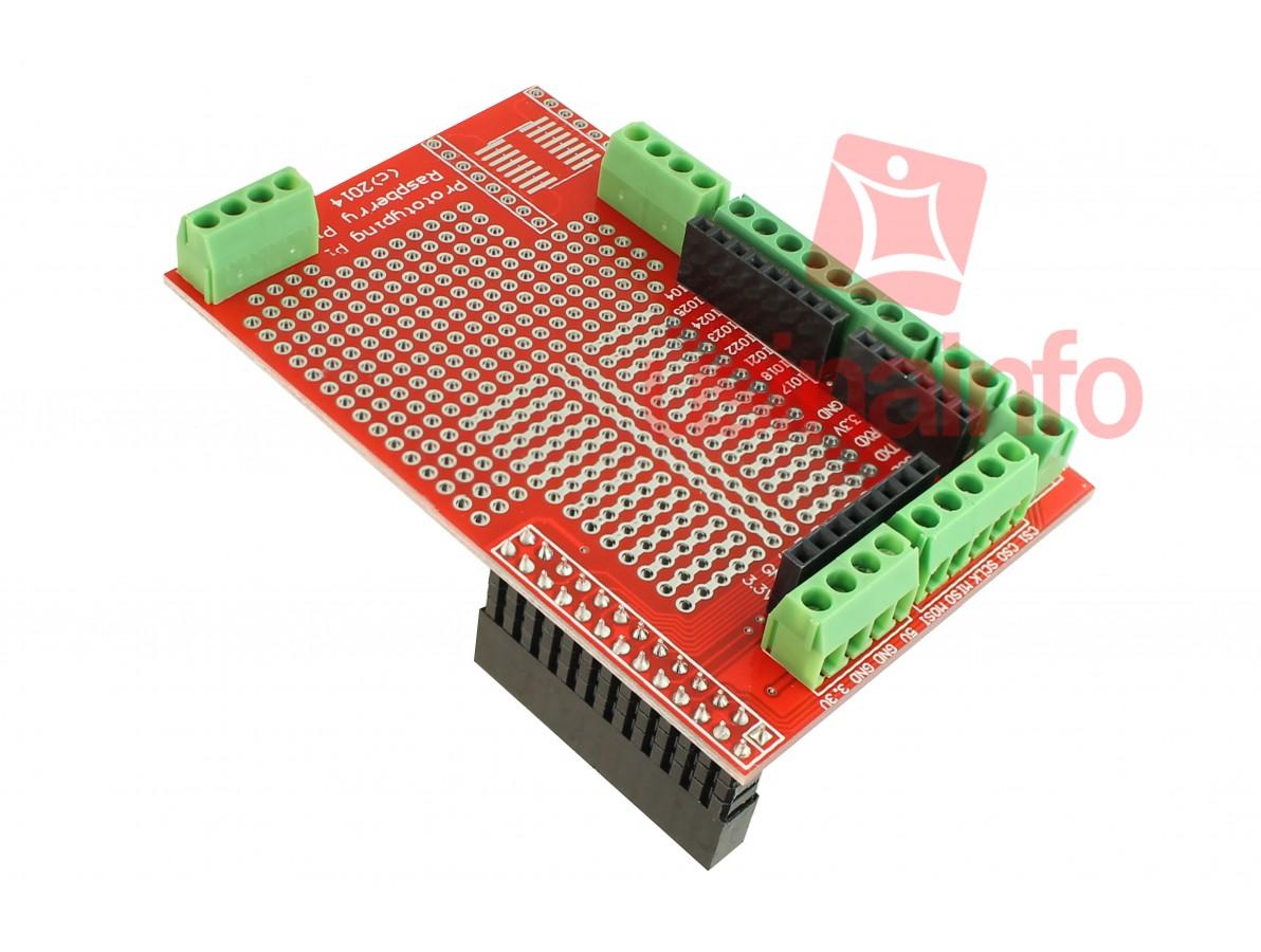Prototyping Pi / Prototype para Raspberry Pi