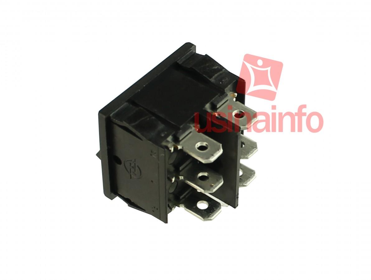 Interruptor Liga/Desliga tipo Gangorra 10A/250V - 6 Terminais
