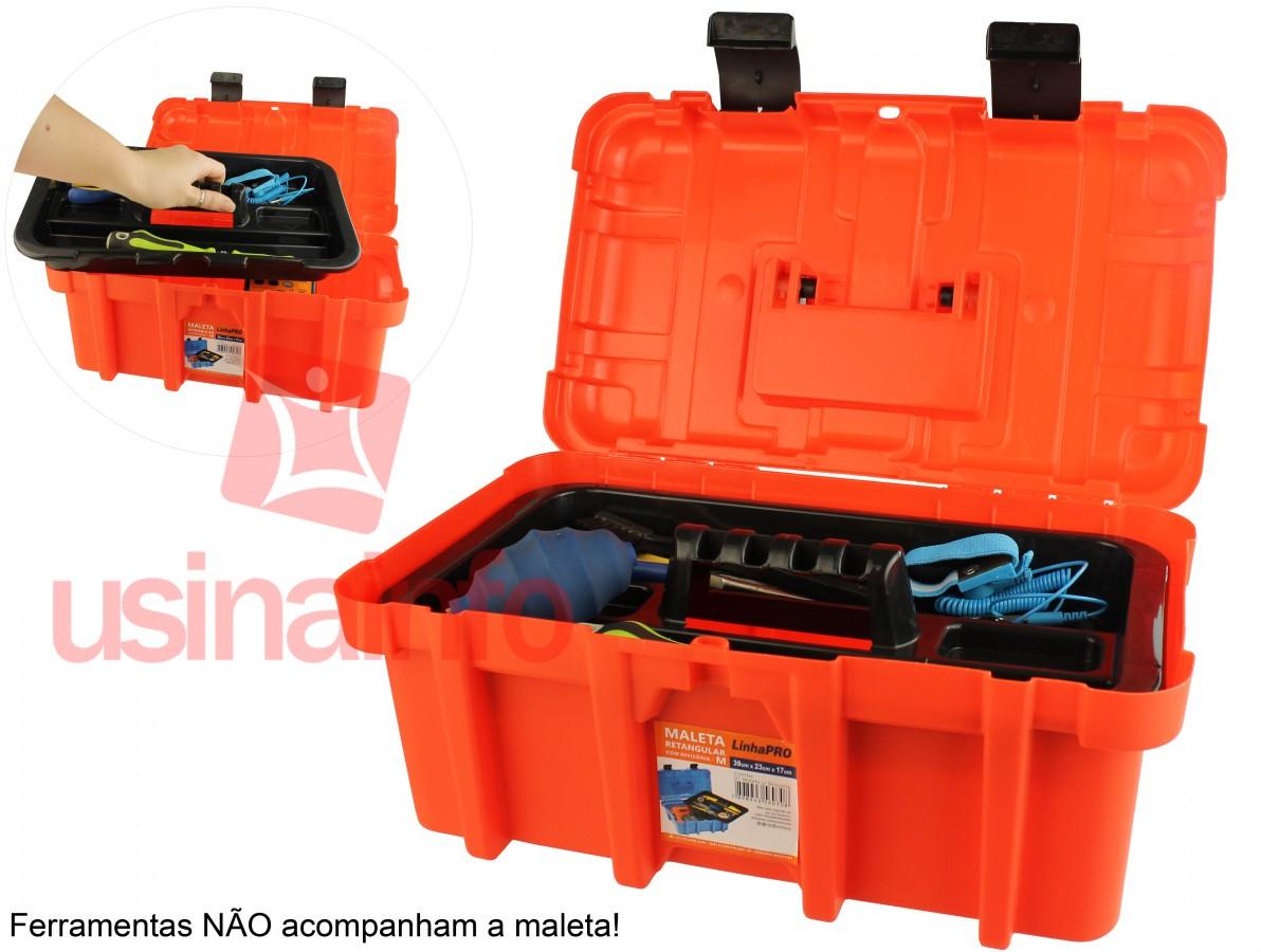 Maleta Organizadora com Divisória 39x23x17cm