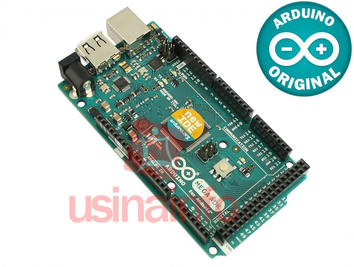 Arduino Mega ADK R3 para Android - ORIGINAL ITÁLIA