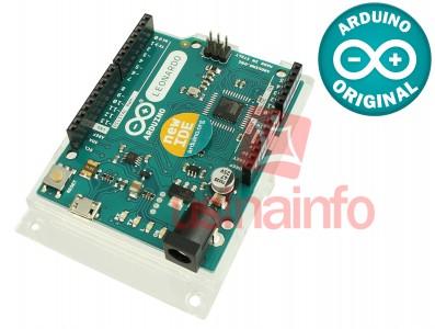 Arduino LEONARDO R3 + Base Acrílica Oficial - ORIGINAL ITÁLIA