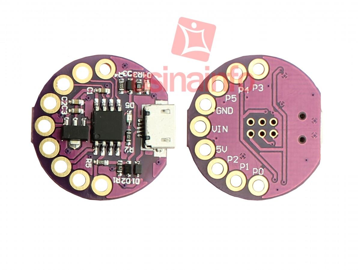 Lilypad Micro Arduino - LilyTiny Attiny85 - Compatível com a IDE Arduino