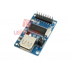 Módulo CH375 USB para Leitura e Escrita Arduino