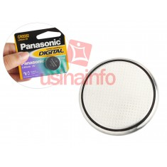 Bateria CR2032 3V de Lithium / Pilha CR2032 - Panasonic