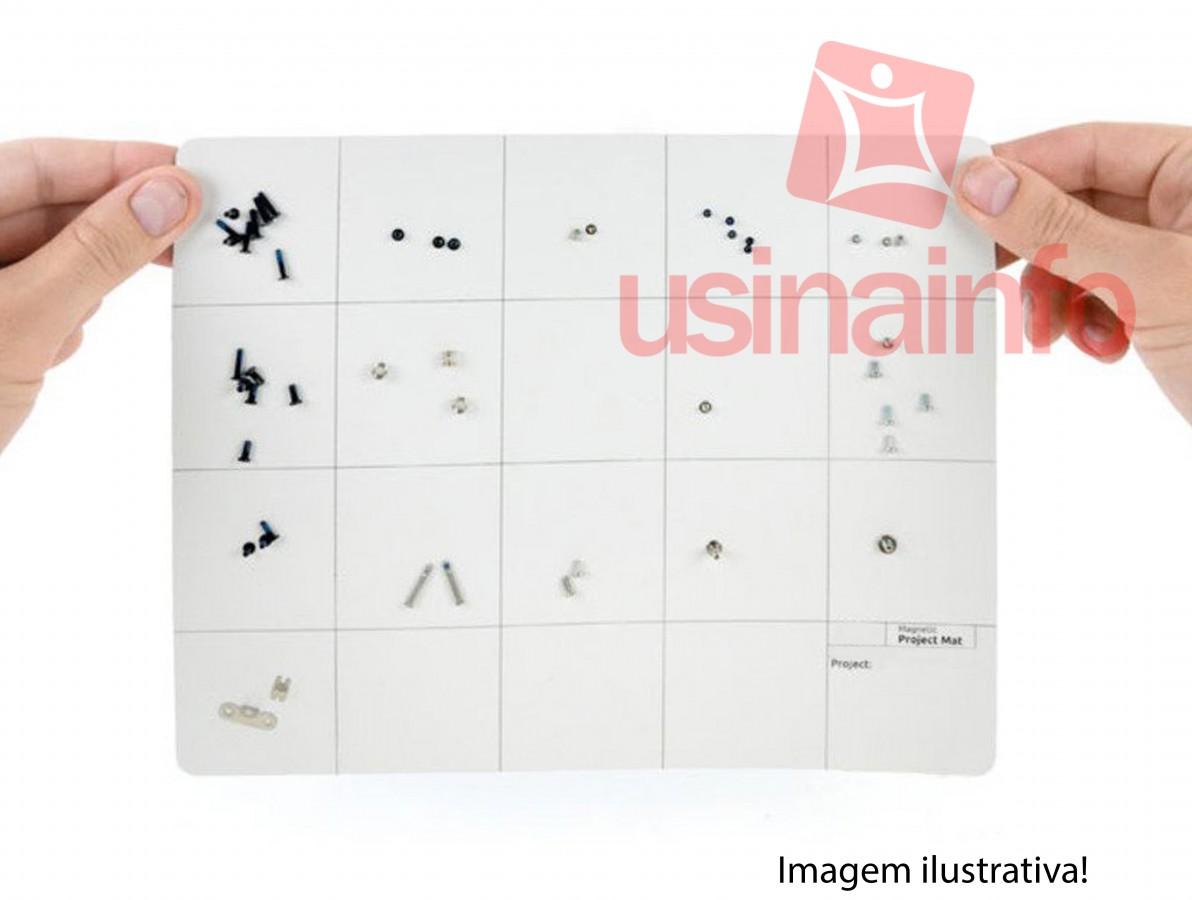 Manta Magnética PAD / Magnetic Project Mat 30x25cm para Manutenção de Smartphones e Eletrônicos + Caneta