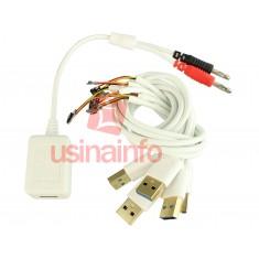 Cabo de Alimentação Iphone 6 / 6 Plus / 5S / 5 / 4S / 4 com Adaptador USB para Fonte de Alimentação - K9301