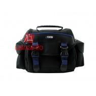Bolsa para câmera semi profissional / profissional ou filmadora com interior revestido e compartimento para acessórios - Easy