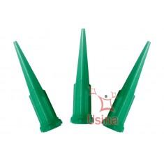 Ponteiras plásticas para aplicação de fluxo de solda - Kit 3 peças 0.84mm