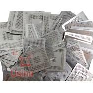 Stencil BGA / Moldes para BGA resistentes ao calor - Jogo com 219 peças