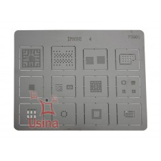 Stencil BGA / Molde de BGA para iPhone 4 - P3001