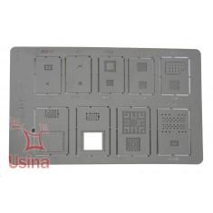 Stencil BGA / Molde de BGA para iPhone 4 e iPad - A401