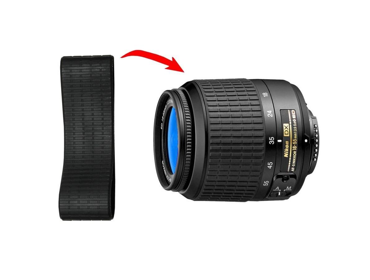 Borracha para Lente Nikon 18-55 ( Rubber)
