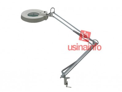 Lupa de Bancada com Iluminação e Aumento 8X - YaXun ML8