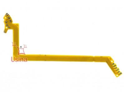 Flat/Flex do Obturador para Casio Exilim EX-Z750, EX-Z850. EX-Z1050, EX-Z1080 - F0036