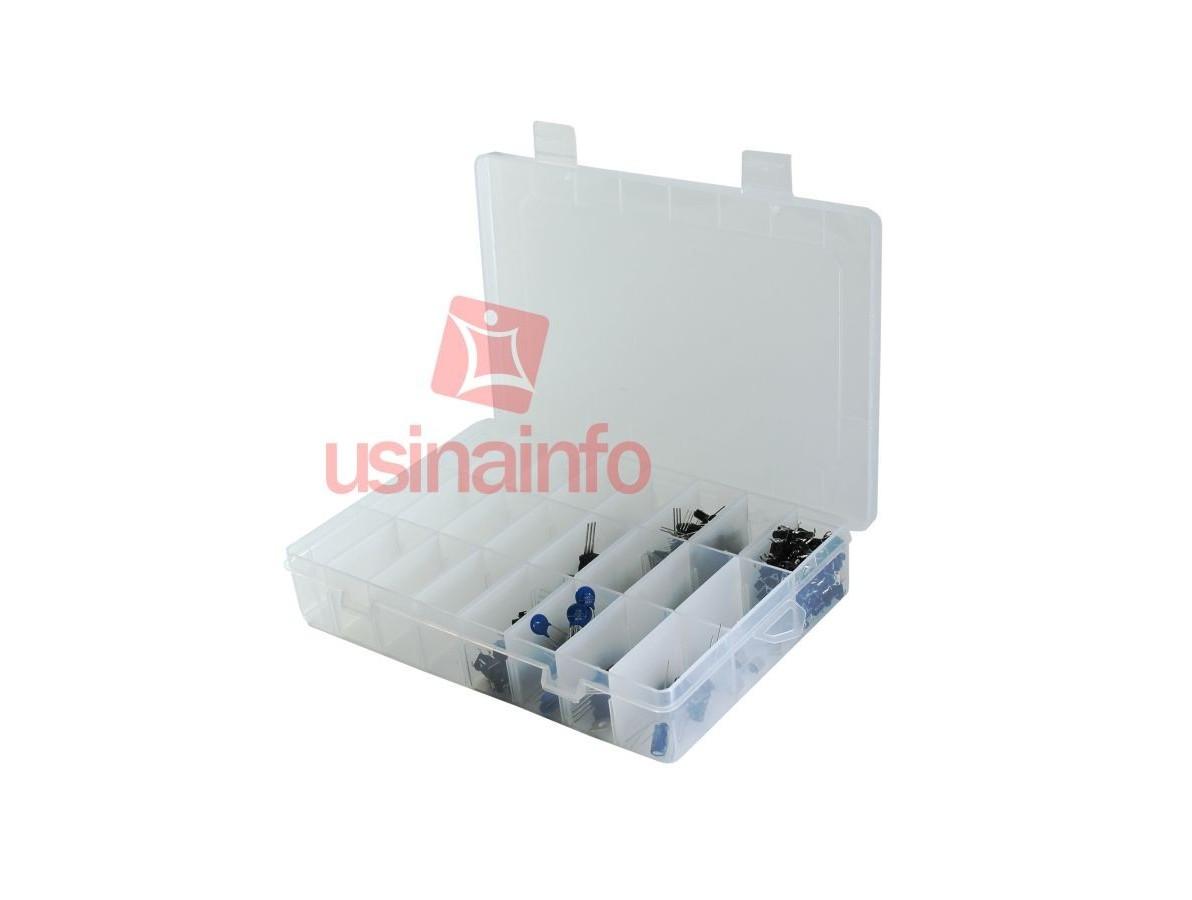 Caixa Organizadora / Porta Objetos com 24 divisórias ajustáveis
