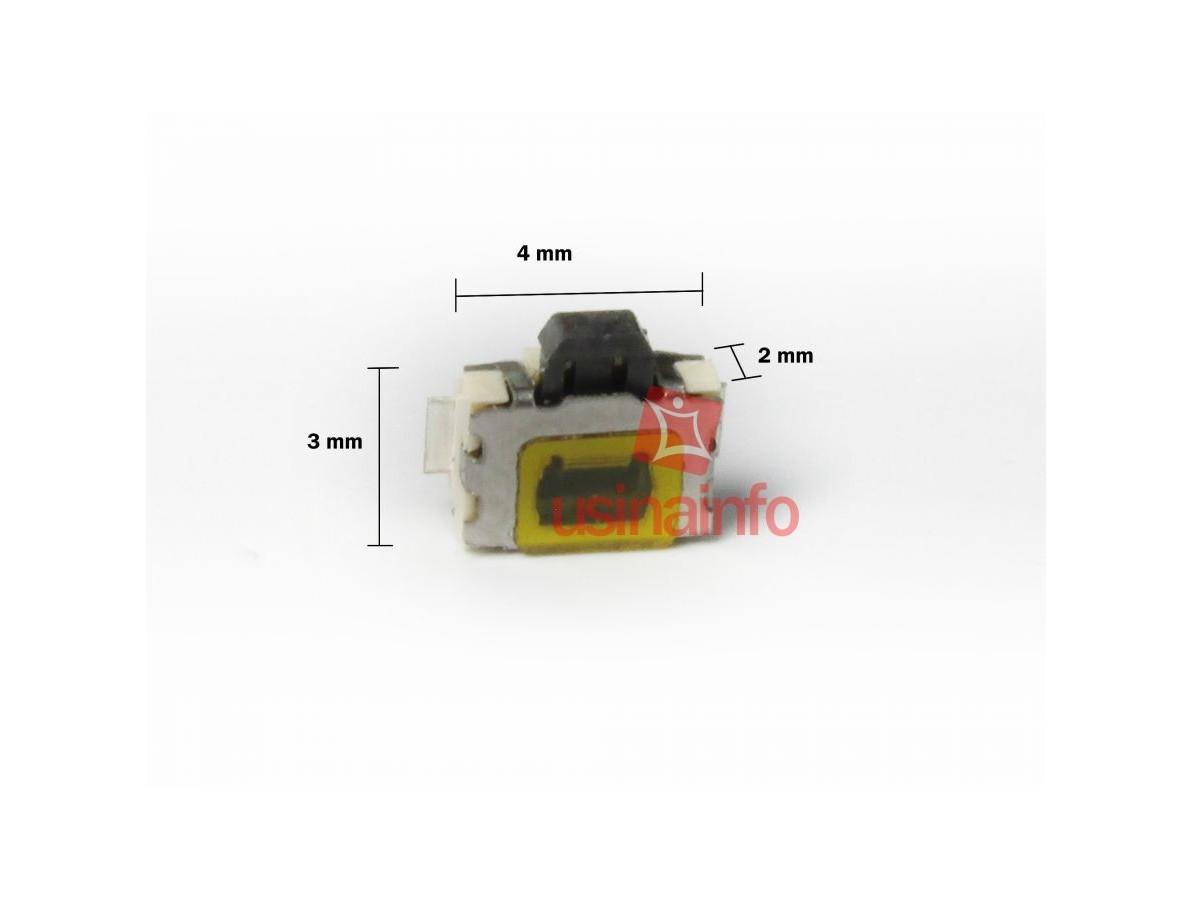 Interruptor para Tablets, GPS, Celulares (4 x 3 x 2mm)