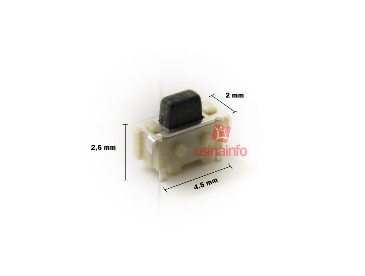 Interruptor para Tablets, GPS, Celulares (4,5 x 2,6 x 2)