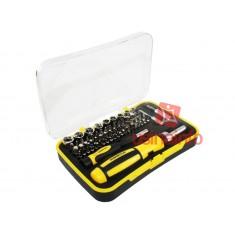 Jogo de chaves e soquetes 65 peças (2 manoplas e 63 bit's) RT1665 - Robust Deer